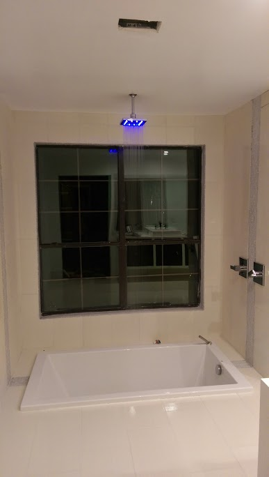 LED Shower Head Install