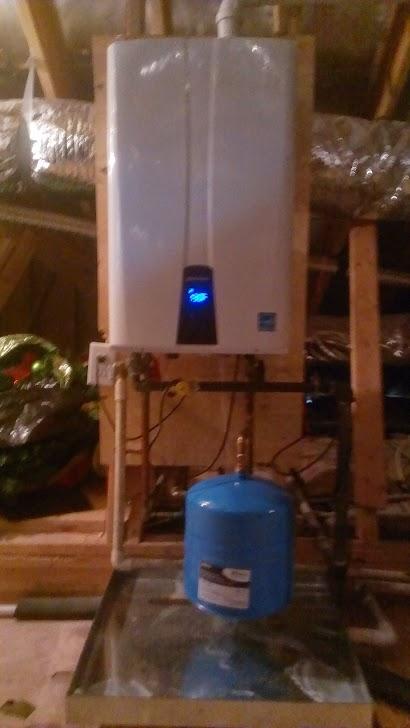 Navien Tankless Water Heater Install