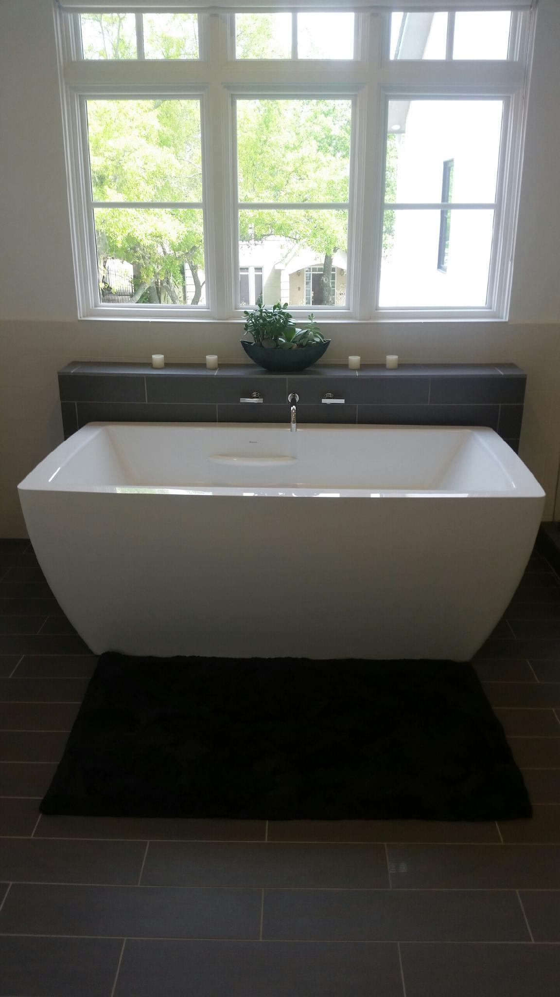 Master Bath Tub & Faucet Install