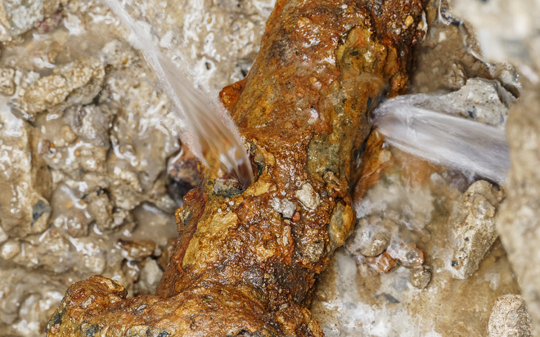 What to Know About Leaking Cast Iron Pipes