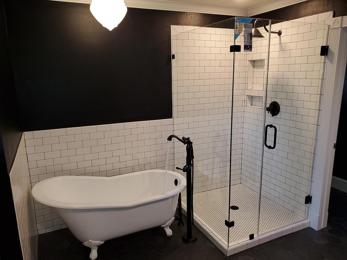 bathroom remodel plumbing
